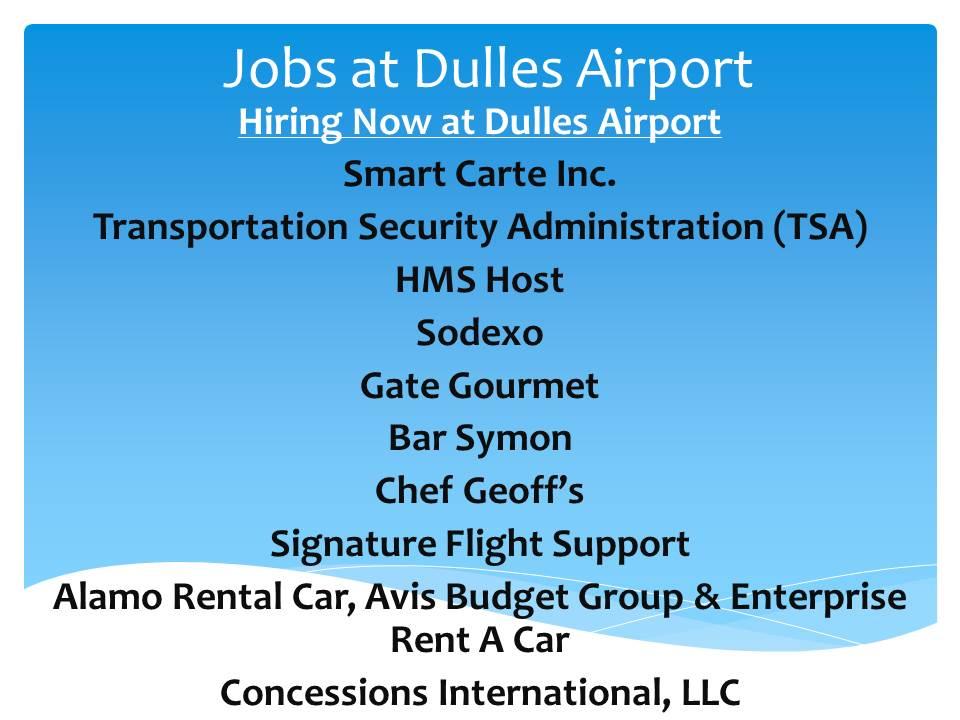 Job+At+Dulles+International+Airport