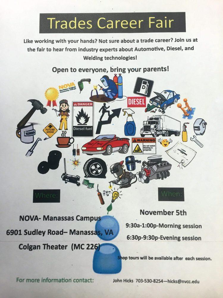 NVCC+Manassas+Campus+Trades+Career+Fair