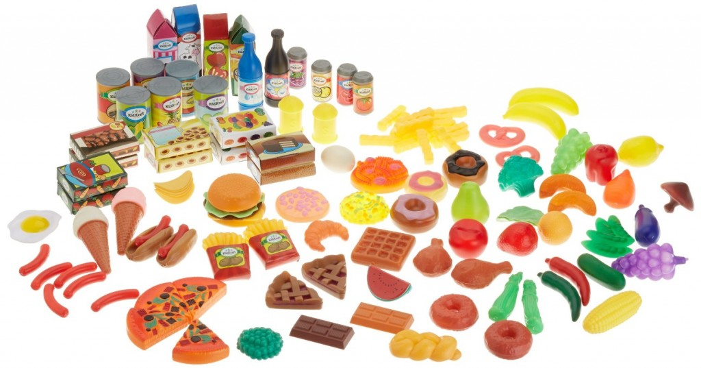 Realistic Play Food Toys : America is feeding us fake food mountain view mirror