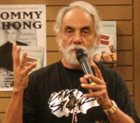 Tommy Chong drops by Colorado Dispensary!!!!