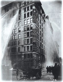 Story of the 1911 Triangle Shirtwaist Fire.