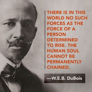The founder of the NAACP was D.E.B. DuBois
