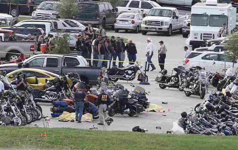 Biker gangs goes bang bang!