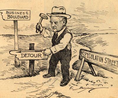 Hoover Blamed for Great Depression