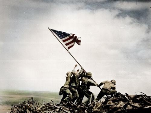 Enduring Image; Iwo Jima Feb. 1945