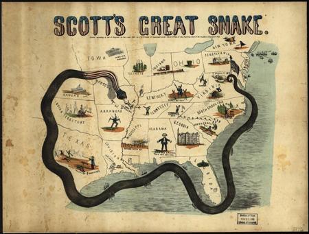 The Anaconda Plan; 1861