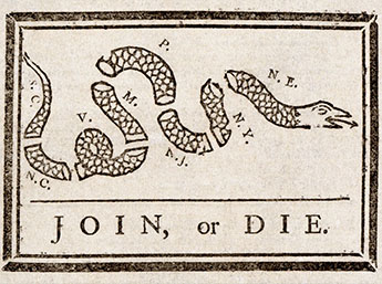 Join, or Die; What unites us today?
