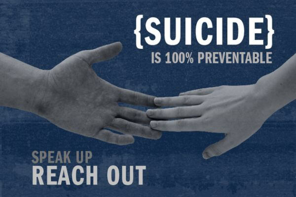 How many suicides does Fairfax County have to go through?