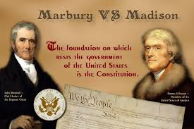 marbury v madison case brief Marbury v madison – case brief summary summary of marbury vmadison, 5 us 137, 1 cranch 137, 2 l ed 60 (1803) facts on his last day in office, president john adams named forty-two.