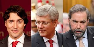 Canadians vote for a change